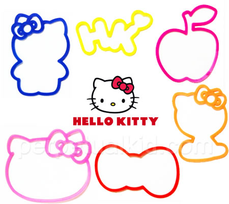 Hello Kitty gets silly with Hello Kitty Silly Bandz