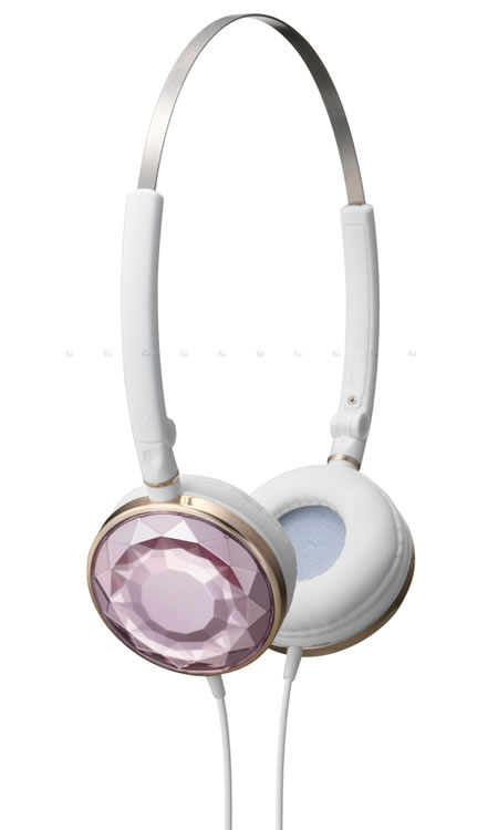 "JVC – Victor new ""Kira-Kira"" Headphones look like precious gems"