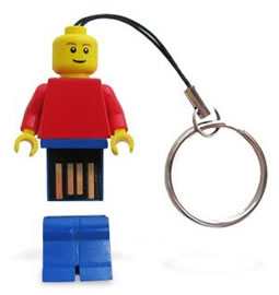 The Official LEGO Minifigure USB drives are Coming your Way