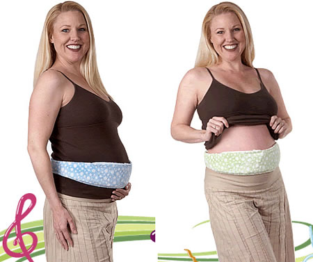 Lullabelly Prenatal Music Belt for a healthy baby