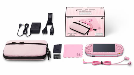 Swoon over the PSP Value Pack For Girls