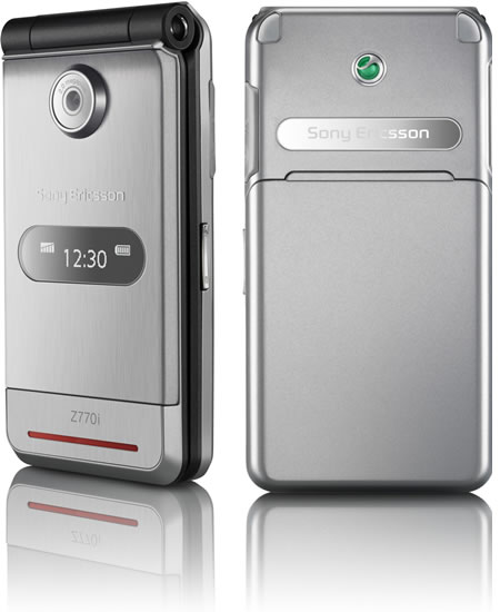 Sony Ericsson Z770 is a clamshell beauty