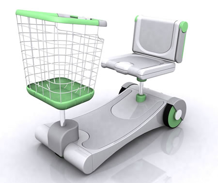 Concept Supermarket Electric Vehicle by Mariano Fajgelbaum