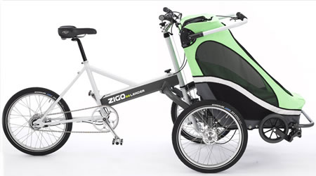 Zigo Leader Carrier Bicycle: A parent powered transport