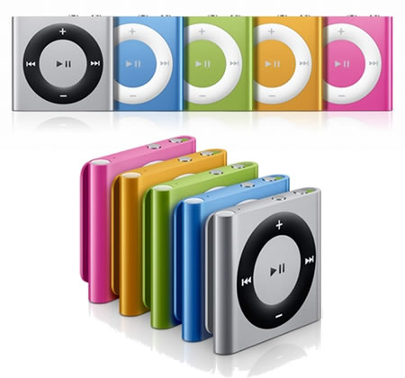 Apple redesigns the iPod Shuffle