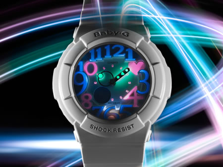 Casio's new Baby-G watches glow and how