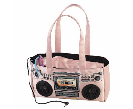 Boom box bag from Journeys in Pink
