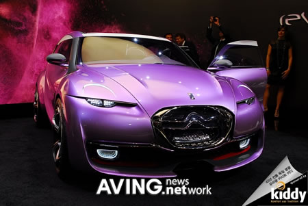 Citroen's Revolte comes with a hot feminine touch