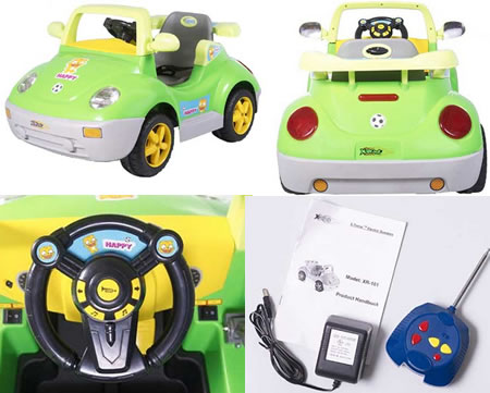 XR-101 Electric Kids Ride on Car is swift