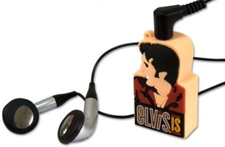 Official Elvis MP3 players makes you swivel your hips