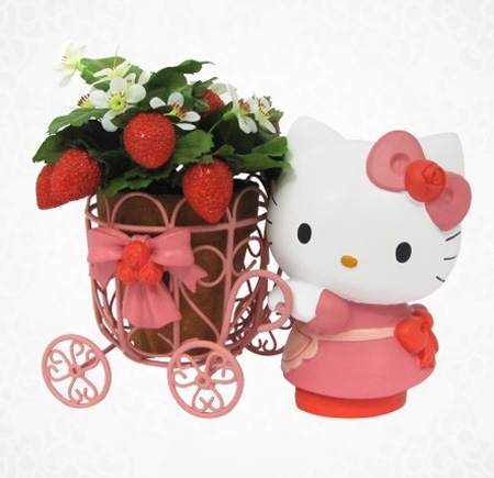 Hello Kitty adds a Touch of Green in your Homes