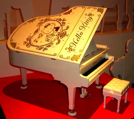 Hello Kitty Grand Pianist from Sega is a grand piano yet so tiny