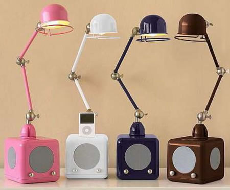 iPod Lamps bring music and light