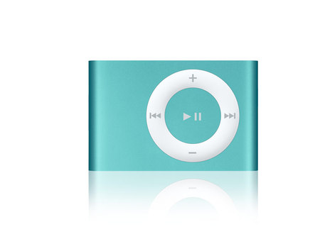 New Apple iPod Shuffle gets a face-lift too