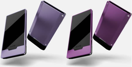 Microsoft gets extra colorful with new Zune HD purple and magenta models