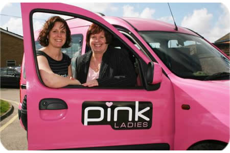 Pink Ladies- an exclusive all-female car service