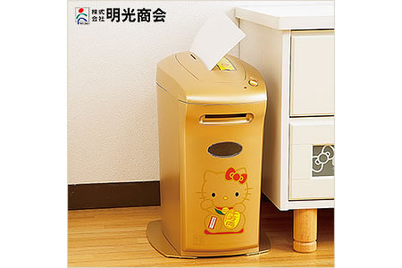 Hello Kitty shredder 'lucky seven' is elegantly kittified for office