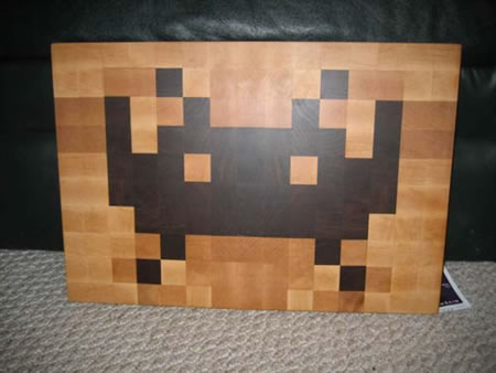 Just another chopping board named Space invader