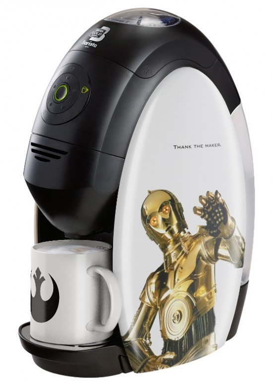 Limited Edition Nestle Star Wars Coffee Maker