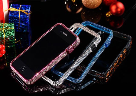 BlingFrame is perfect for a Sparkling, Gorgeous iPhone 4