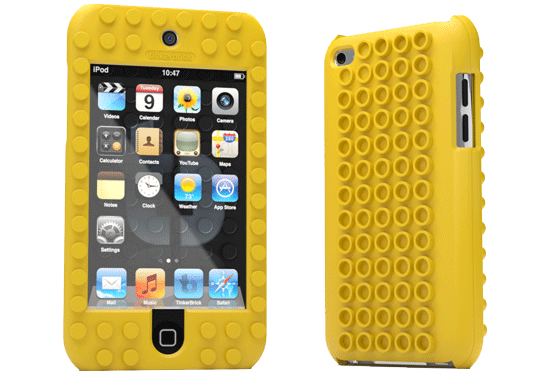The TinkerBrick Case turns your iDevice into a Lego block