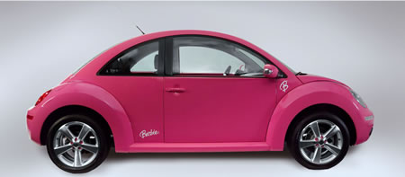 Volkswagen Beetle Barbie debuts in Mexico