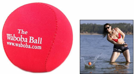 Waboba Ball bounces on water!