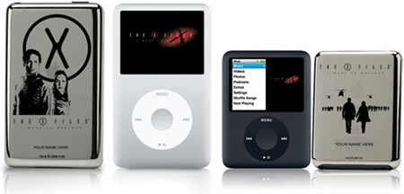 X-file rules on your limited edition iPod nano!