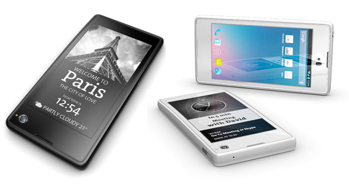 Yota Phone is a Dual-Screen with e-Ink Android Smartphone