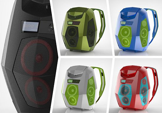 Party on the go with the BoomPack!
