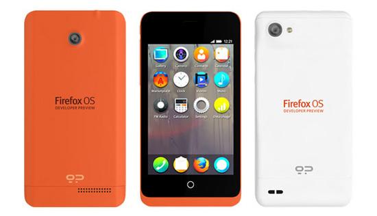 Mozilla discloses Firefox OS-based smartphones