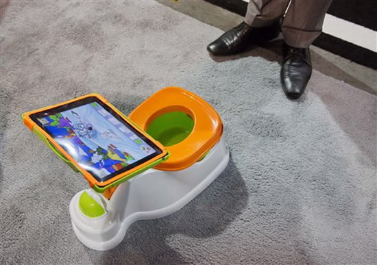 Potty Training in Style with iPotty