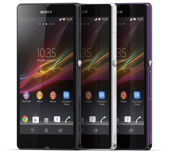 Sony's newest Xperia Z can be dipped in Water