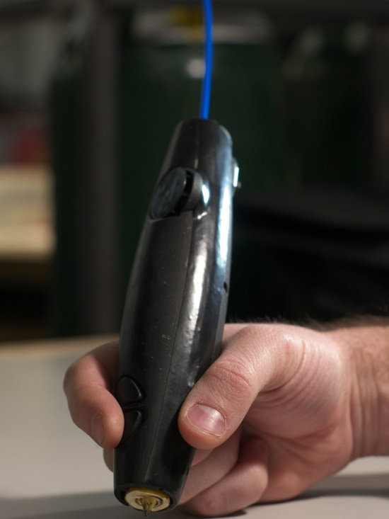 World's first 3D printing pen by Wobble works