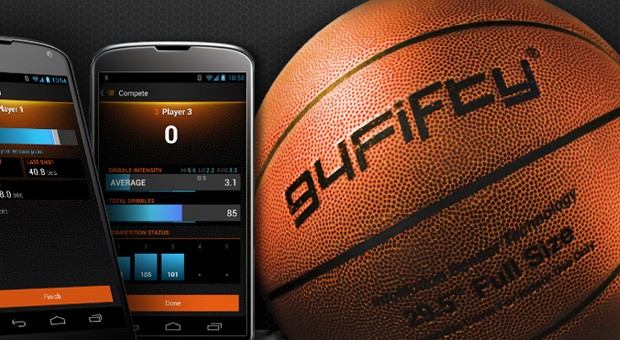 94Fifty is the world's first smart basketball