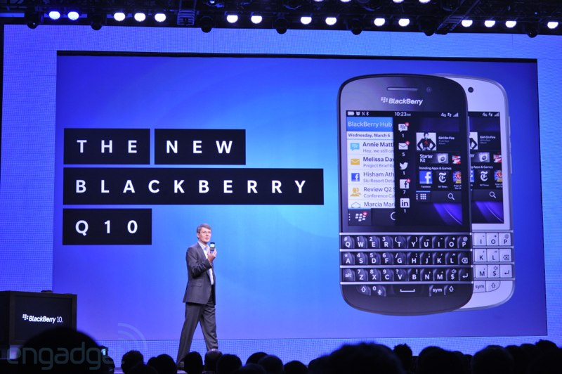 Blackberry Q10 ready to Rule the Roost