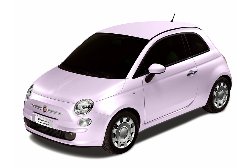 Fiat 500 Rosa Fiore limited edition