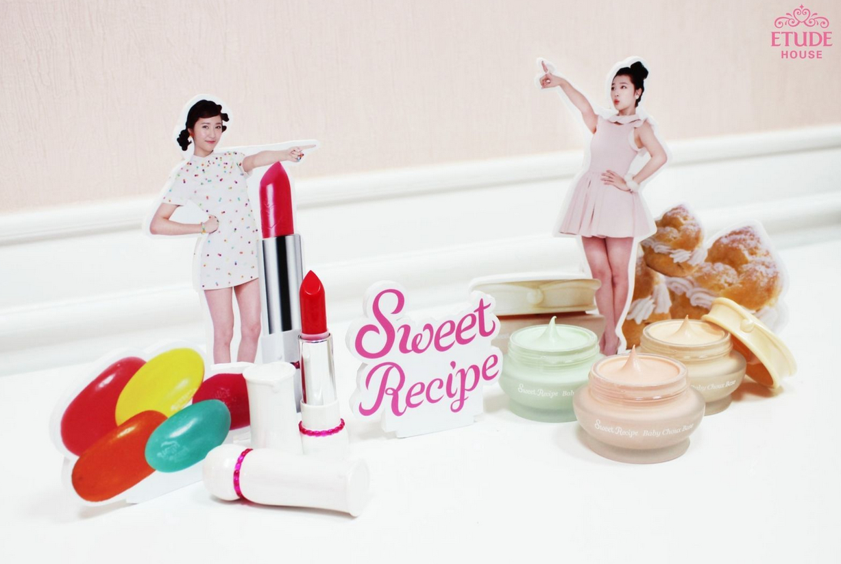 Desserts inspired Etude House Sweet Recipe Makeup Collection!