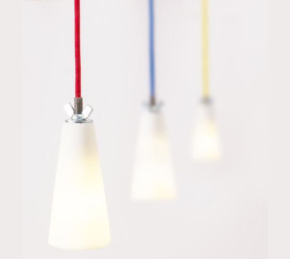 Stunning SUESSLICHT Pendant Lamp made of Sugar