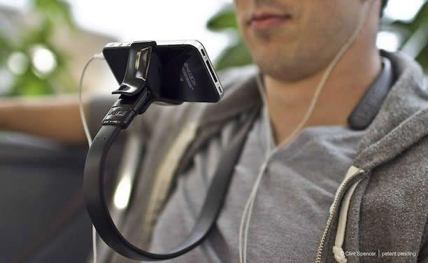 Wear the iPhone Around Your Neck with Vyne Stand