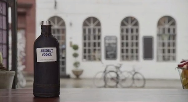ABSOLUT Creates Limited Edition Denim Sleeve for its Bottle