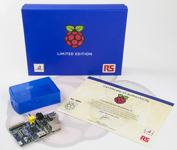 Limited Edition 'Blue' Raspberry Pi launches to celebrate its first anniversary