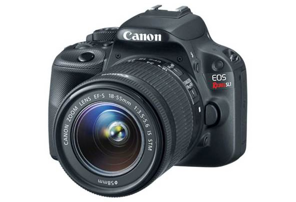 Canon EOS Rebel SL1, the smallest and lightest DSLR in the world