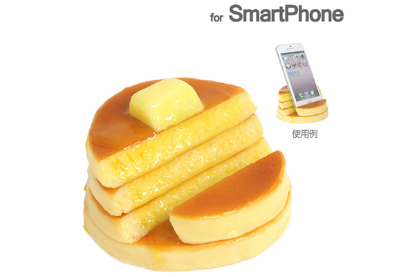 Food Stand for Smartphones apt for Foodies