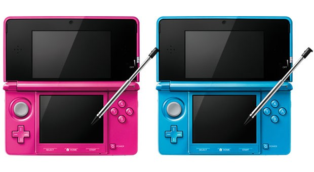 Nintendo unveiled Light Blue and Gloss Pink 3DS models