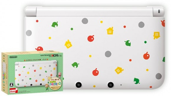 Coming Soon: Limited Edition Animal Crossing 3DS XL