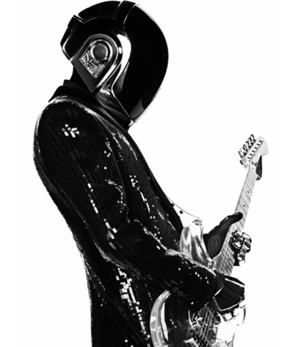 High on style: Saint Laurent dresses Daft Punk