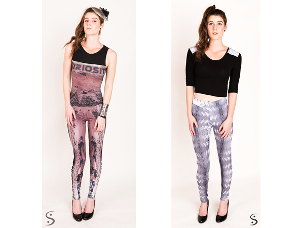 Walk in Style with Curiosity Wheel and Curiosity Print Rover Leggings