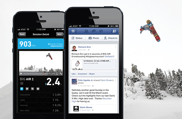 Lit from NZN Labs: The health tracker for the extreme adventurer