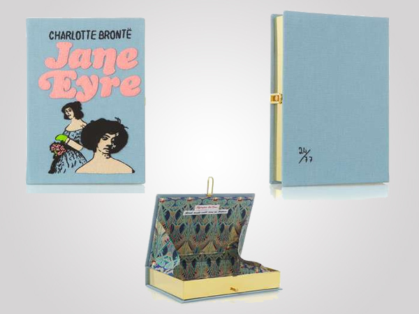 Olympia Le-tan Clutch inspired by Classic Novel Jane Eyre